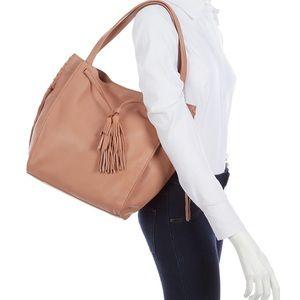 Lucky Brand Numa Leather Tote Blush Bijou